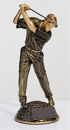 S9079 Golfer on ball